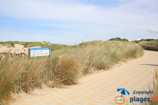 Corniche and Dunes in Le Touquet