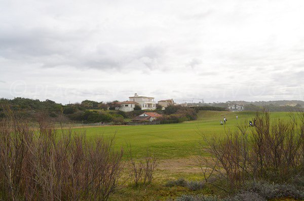 Golf of Anglet from Dunes beach - France