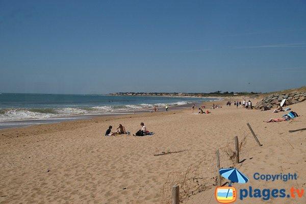 Beach in Brétignolles sur Mer - Les Dunes