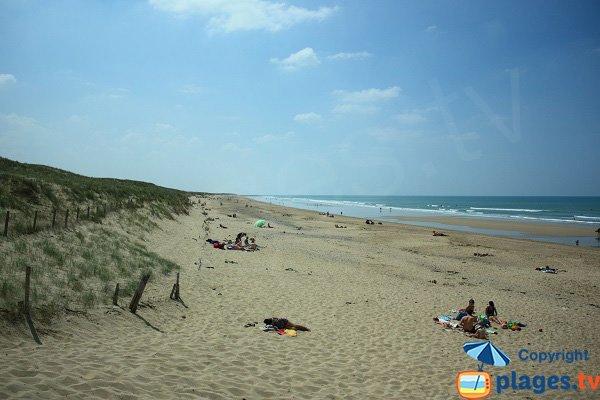 Photo of Dunes beach in Brétignolles sur Mer - North area