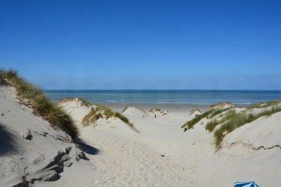 Dunes et plage de St Quentin en Tourmont
