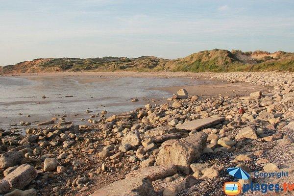 Plage des Dunes de la Slack à Wimereux