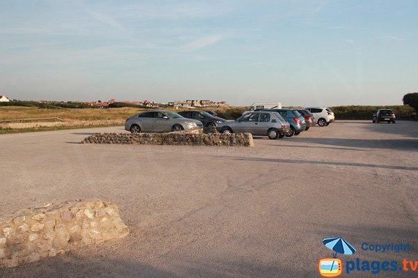 Parking au niveau de la pointe aux oies