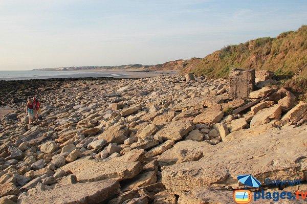 La Pointe aux Oies avec vue sur la plage des Dunes du Slack