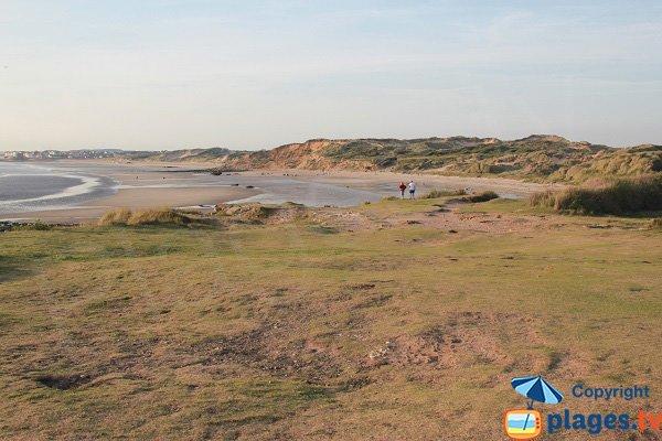Photo de la plage des Dunes de la Slack à Wimereux