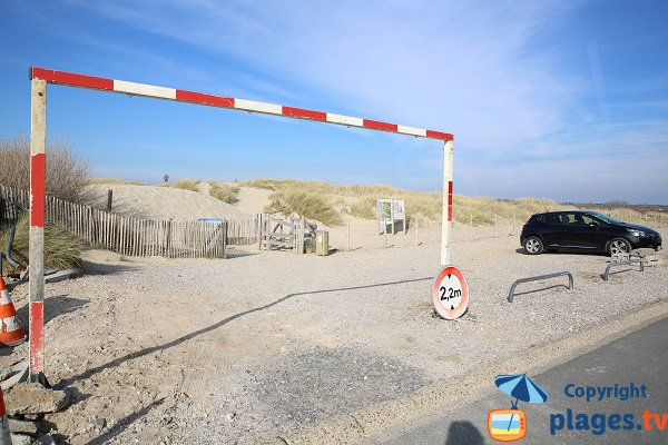 Parking of Dunes of Stella-Merlimont