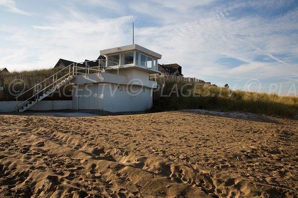 Poste de secours de la plage des Dunes - Le Hôme-Varaville