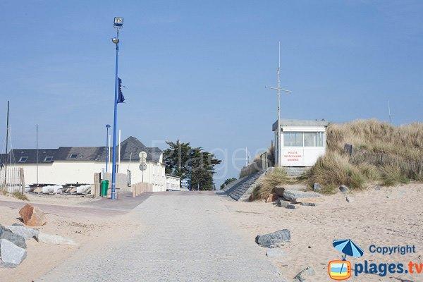 Poste de secours d'Hauteville sur Mer