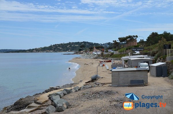 Photo of Elephant beach in Sainte Maxime in France