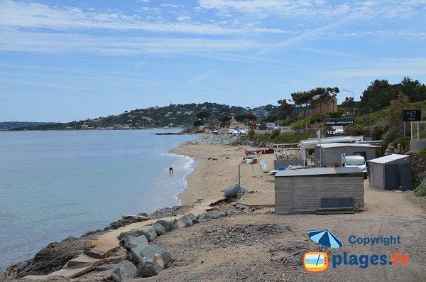 Photo de la plage des éléphants de Ste Maxime