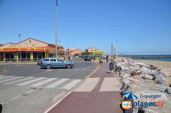 Negozi in spiaggia Epis in Ste Marie