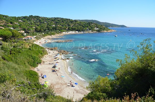 Spiaggia dell'Escalet a Ramatuelle - Francia
