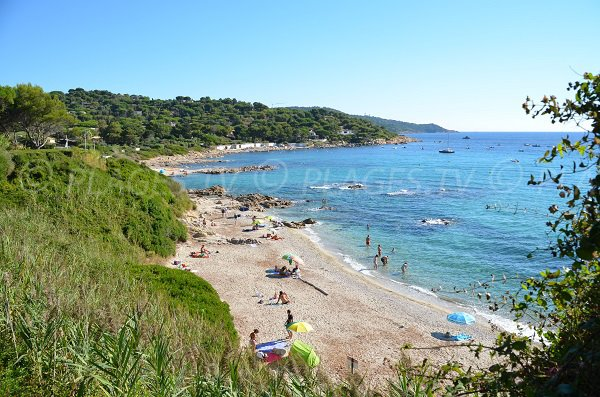 Photo of Escalet beach in Ramatuelle