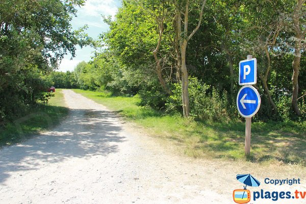 Parking de la plage des Escardines - Oye-Plage