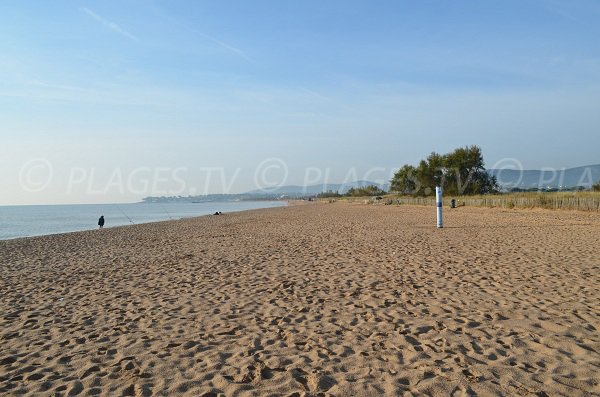 naturist beach in Saint Aygulf - France