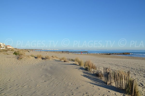 Photo of Est beach in Carnon in France