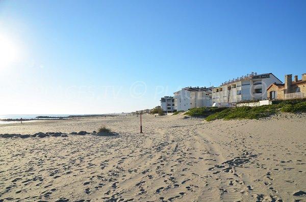 Photo of Est beach of Carnon - France