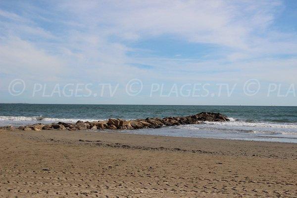 Est beach in Carnon-Plage