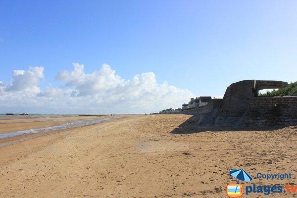 Beach between Saint-Côme-de-Fresné and Asnelles - Normandy