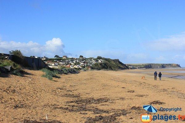 Photo of East beach in Saint Come de Fresné - Normandy