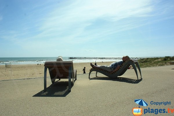 Photo of Estacade beach in Saint Jean de Monts - France