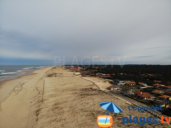 Photo de la plage des Estagnots à Seignosse - Landes