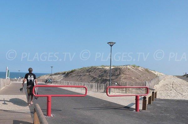 Accès à la plage - Estagnots - Seignosse