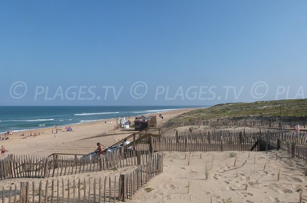 Estagnots beach in Seignosse - Landes