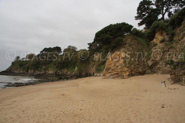 Gabourelles beach in St Marc sur Mer