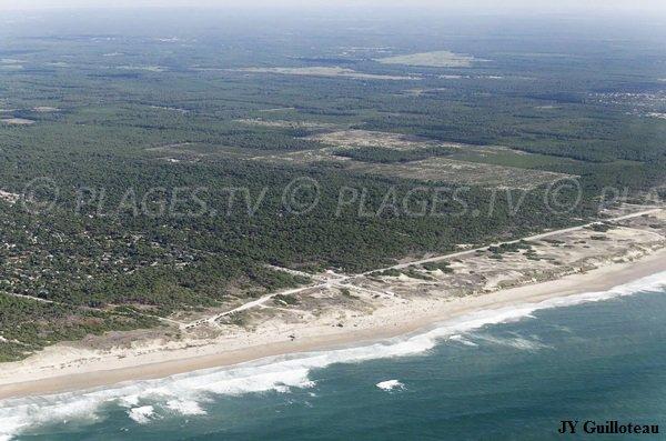 Photo de la plage Euronat en Gironde
