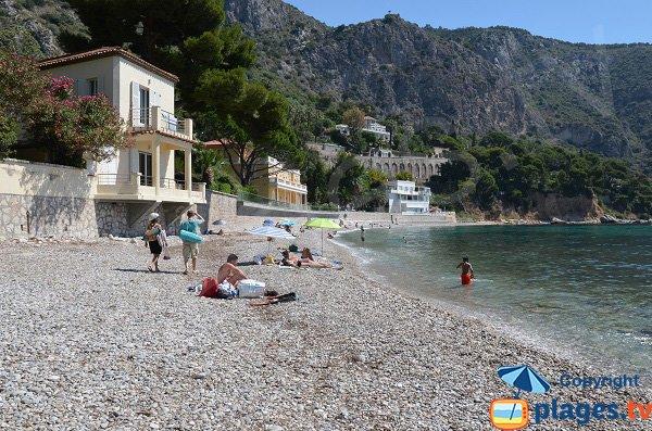 Main beach of Eze