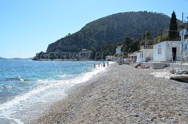 Cap Roux and beach of Eze
