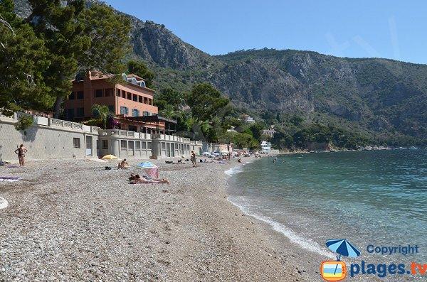 Shade on Eze beach