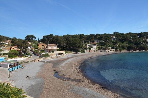 Photo of Fabregas beach in La Seyne sur Mer in France