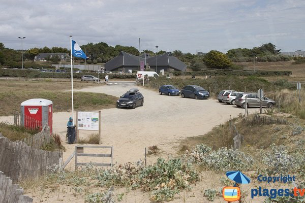 Parking of Falaise beach - Guidel