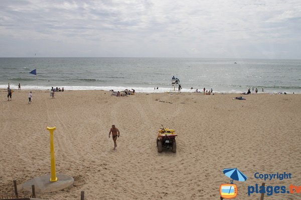Photo of Falaise beach in Guidel - supervised area