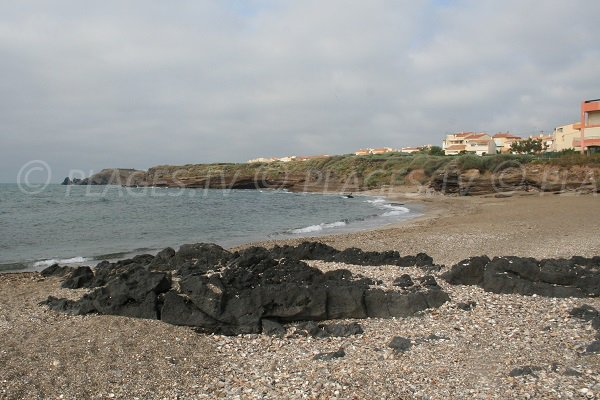 volcanic cliffs of Cape d'Agde