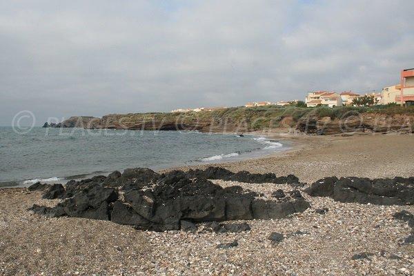 volcanic cliffs of Cape d'Agde