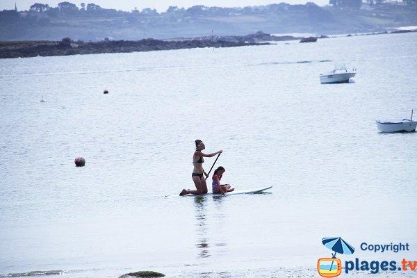 Kayak autour de la presqu'île de Neiz Vran - Kerlouan