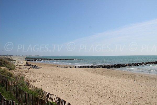 Foto della spiaggia della Farinette a Vias-Plage