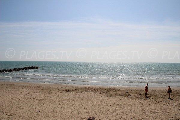 spiaggia pubblica di Vias - Farinette