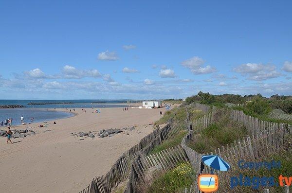 Photo de la plage de la Farinette à Vias