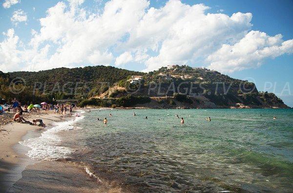 Photo de la plage de Sainte Lucie de Porto Vecchio - Fautea - Corse