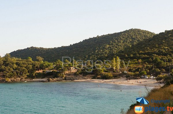 Beach and cove of Fautea - Corsica