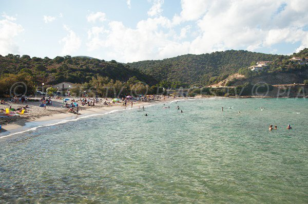 Photo de la plage de Fautea en Corse