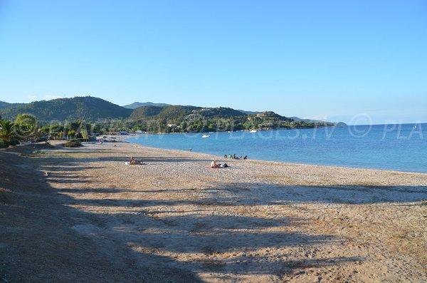 Spiaggia di Favone in Corsica