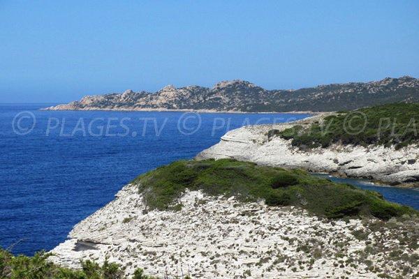Fazzio island from Cap of Feno