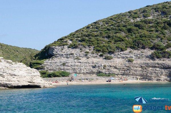 Wild beach in Bonifacio - Fazzio