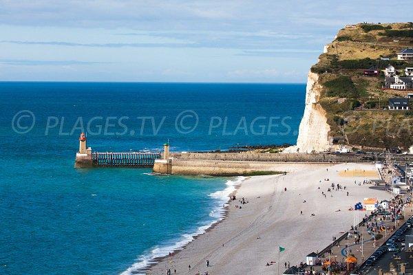 fecamp plage - Photo