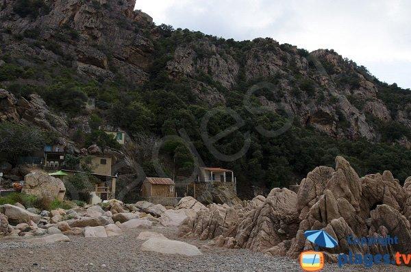 Maisons sur la plage de Piana - Ficajola